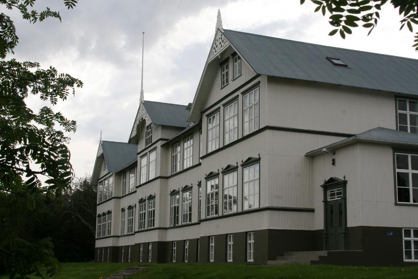 Gamli skóli - eitt húsa Menntaskólans á Akureyri.