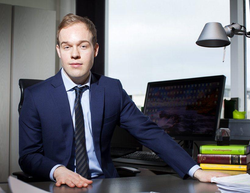 Vilhjálmur Þ. Á. Vilhjálmsson, lögmaður Ólafar.