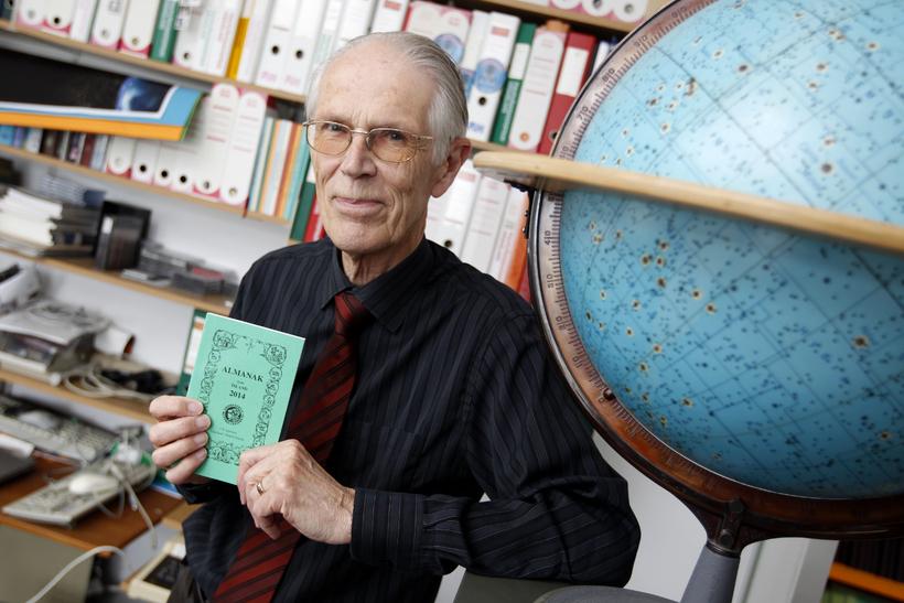 Dr. Þorsteinn Sæmundsson, stjörnufræðingur hjá Raunvísindastofnun Háskóla Íslands.