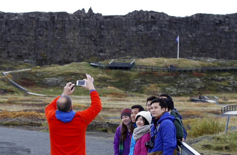 Fjöldi Íslendinga sem telja að álag ferðamanna á íslenska nátturu ...