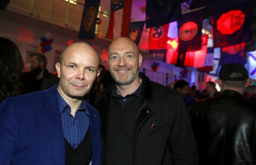 Baldur Þórhallsson og Felix Bergsson