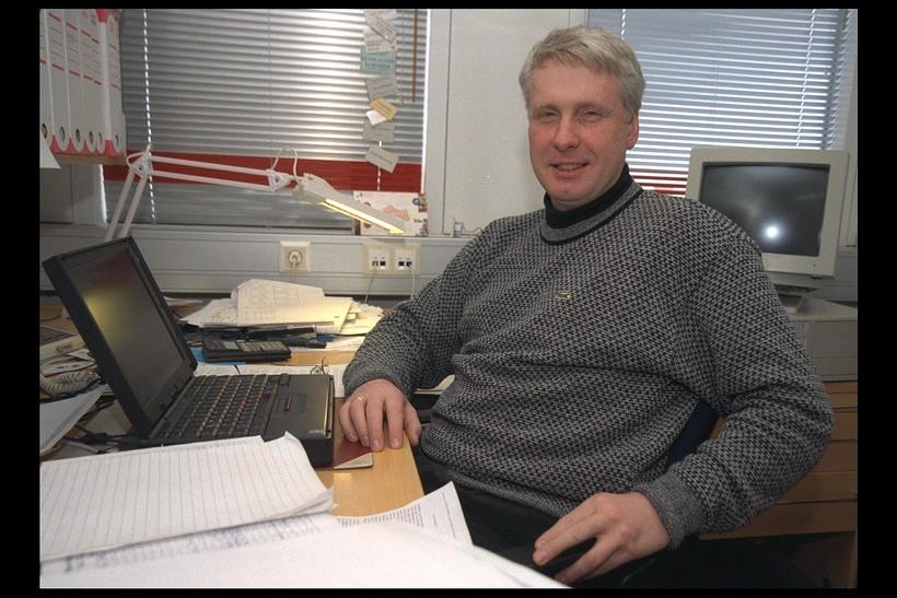 Gunnlaugur Björnsson, stjarneðlisfræðingur og deildarstjóri háloftadeildar Raunvísindastofnunar Háskóla Íslands.
