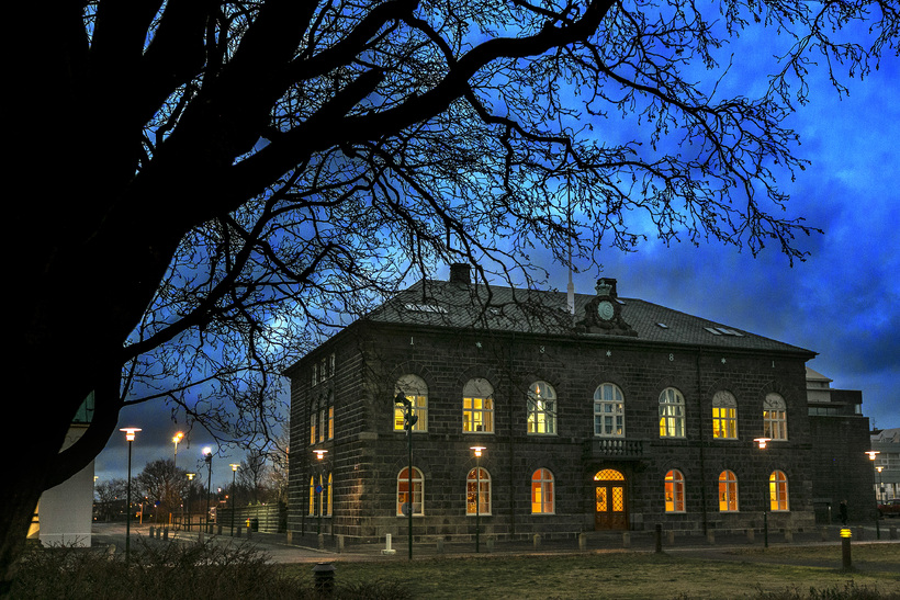 63 MPs sit in Iceland's Alþingi parliament.
