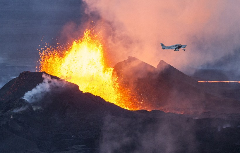 Holuhraun in December 2014.