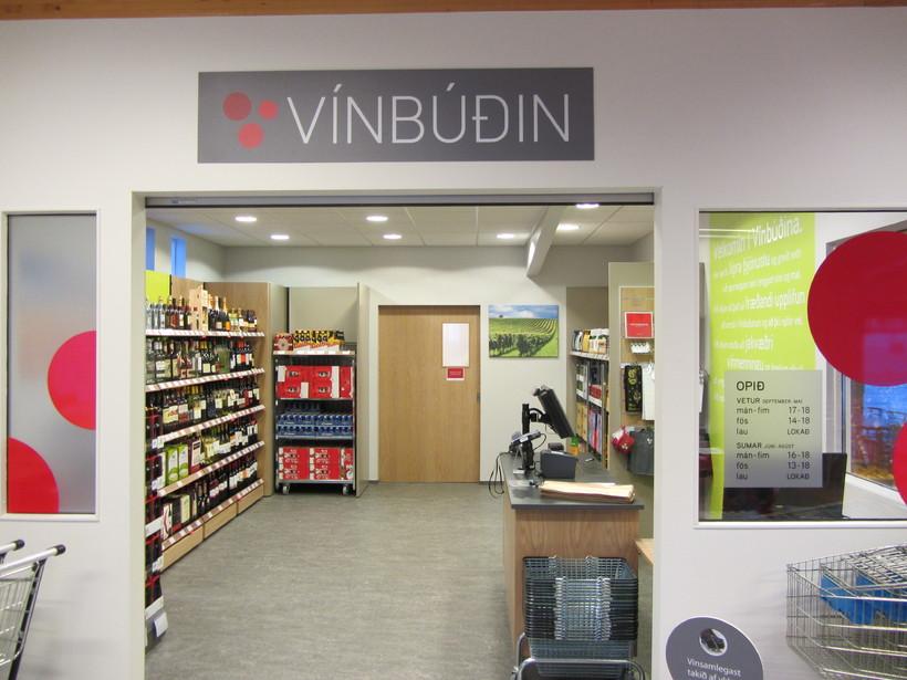 A Vínbúðin branch.