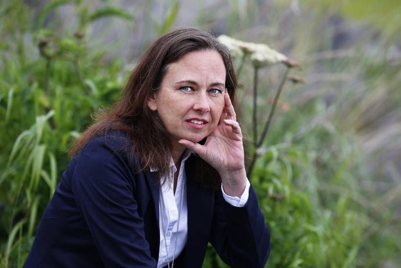 Yrsa Sigurðardóttir, author of the award-winning crime novel 'The Silence …