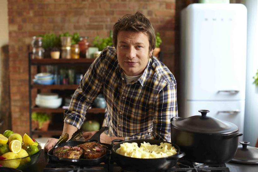 Sjónvarpskokkurinn Jamie Oliver.