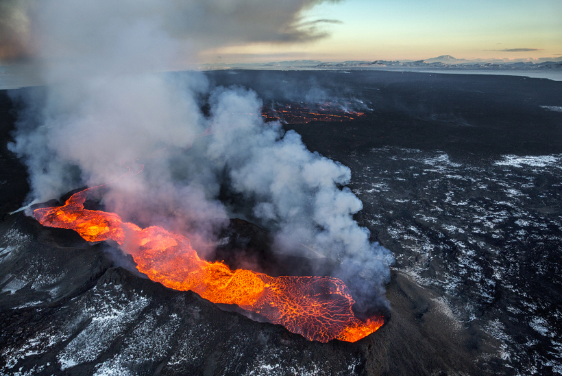 Is sulphur from the Holuhraun eruption to blame?