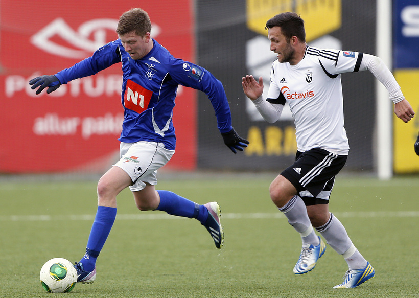 Hörður Árnason er nýliði í landsliðshópnum.