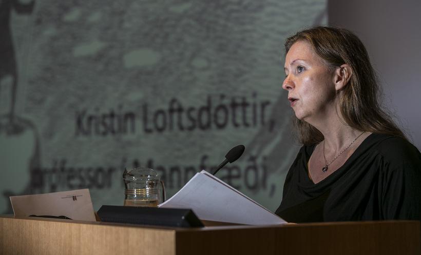 Kristín Loftsdóttir, próessor í mannfræði.