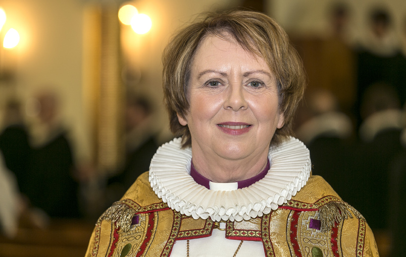 Agnes M. Sigurðardóttir is the current Bishop of Iceland.