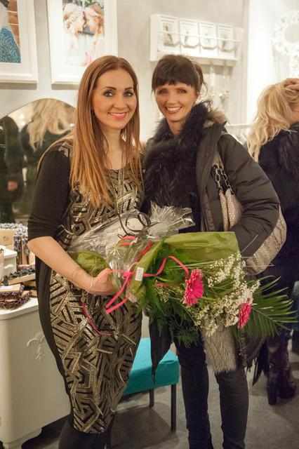 María Krista Hreiðarsdóttir og Guðrún Björk Gunnarsdóttir.