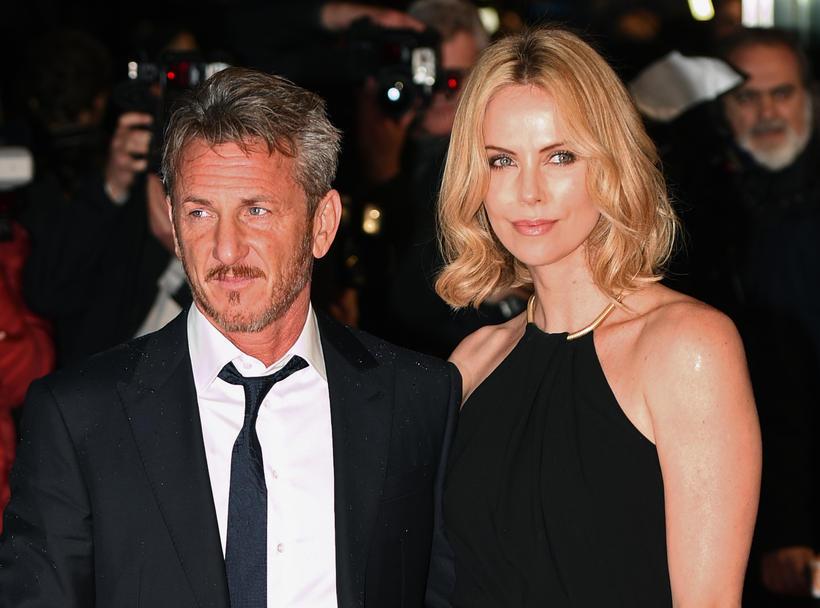Sean Penn og Charlize Theron voru í sambandi á árunum …