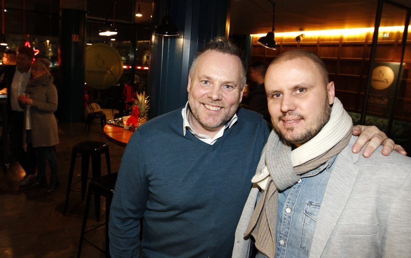 Jón Arnar Guðbrandsson and Jón Gunnar Geirdal.