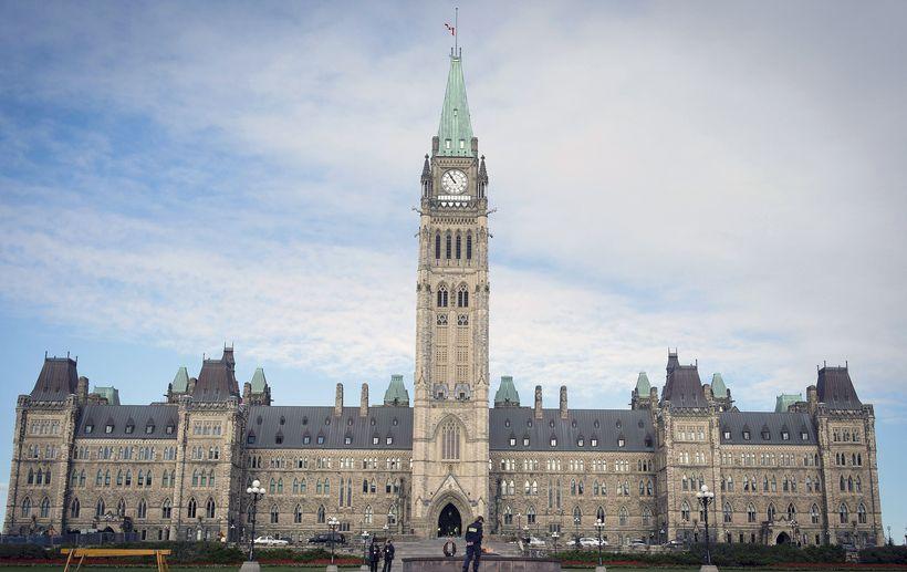 Kanadíska þinghúsið í Ottawa.