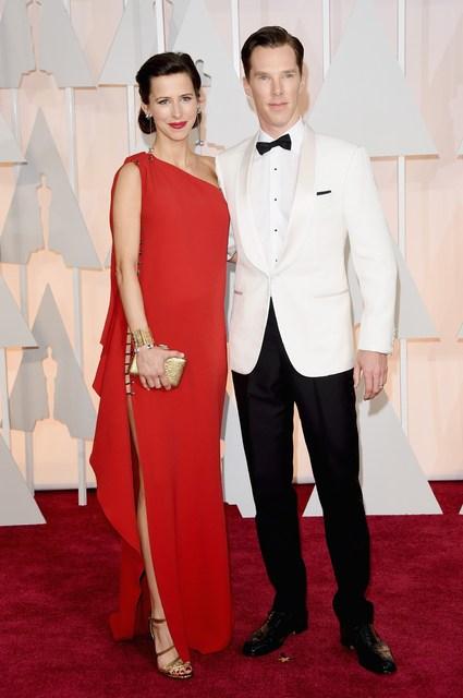 Benedict Cumberbatch og Sophie Hunter.