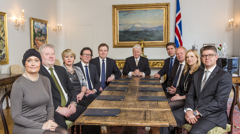 The current government of Iceland.
