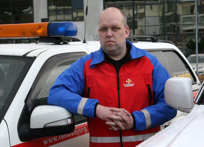 Jón Svanberg Hjartarson, framkvæmdarstjóri Slysavarnafélagsins Landsbjargar.