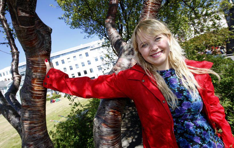 Anna Svava Knútsdóttir, leikkona og ísbúðareigandi.