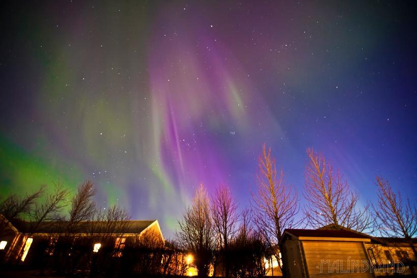 These Northern Lights were caught on camera in Selfoss last ...