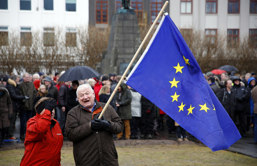EU membership has so far divided opinion in Iceland.