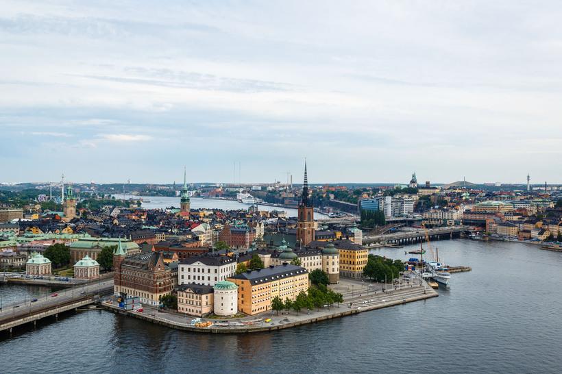Central Stockholm.