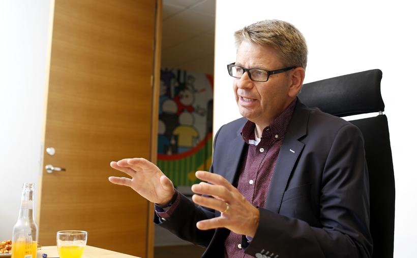 Jón Sigurðsson, forstjóri Össurar.