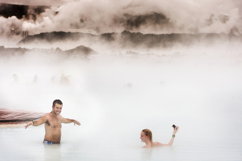 Iceland's famous Blue Lagoon is one of the companies to …