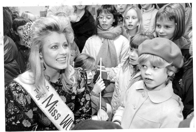 Hólmfríður Karlsdóttir, Miss World 1985.