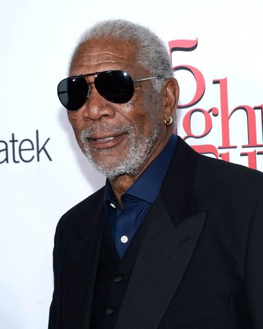 Morgan Freeman fær ekki hlutverk út á góðar tennur.