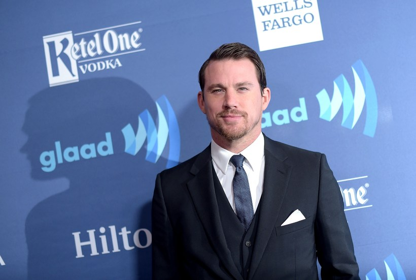 Channing Tatum has revealed that he got caught in a ...