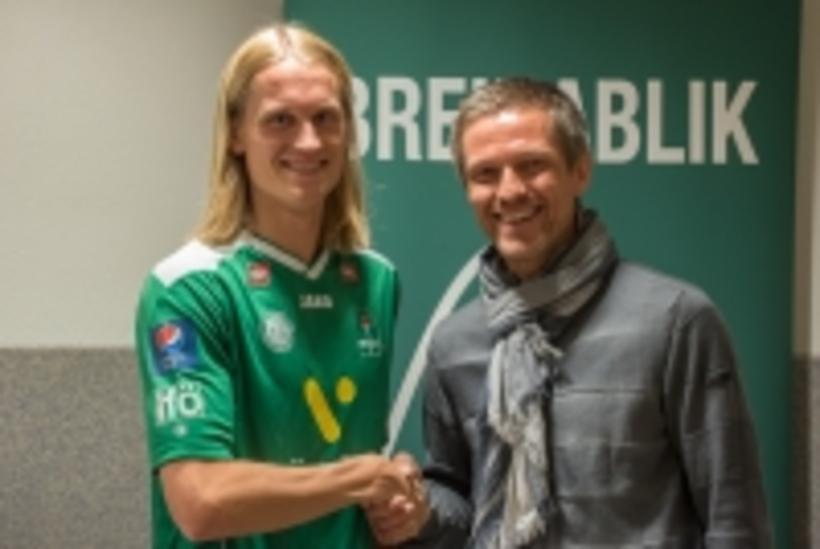 Atli Sigurjónsson og Arnar Grétarsson þjálfari Breiðabliks.