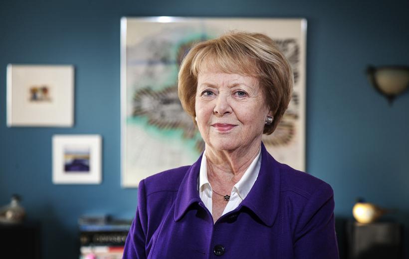 Vigdís Finnbogadóttir, former President of Iceland.