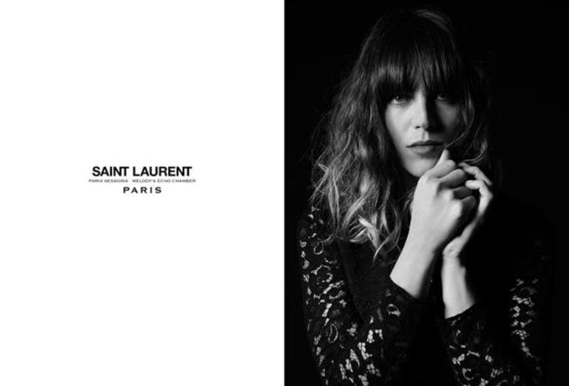 Melody Prochet is the new face of Saint Laurent.
