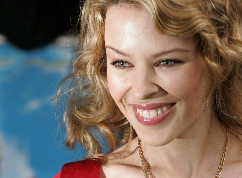 Söngkonan Kylie Minogue lenti í ástarsorg í fyrra.
