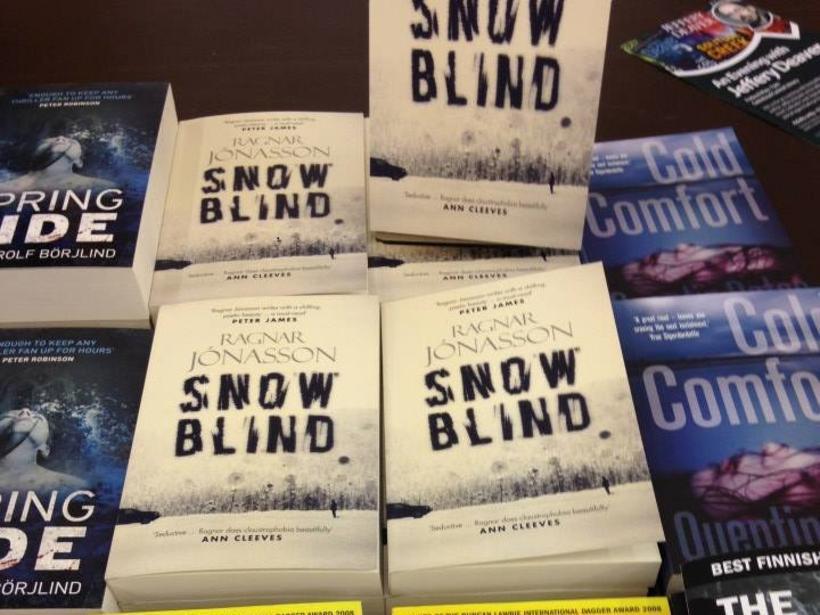 Snowblind, by Ragnar Jónasson.