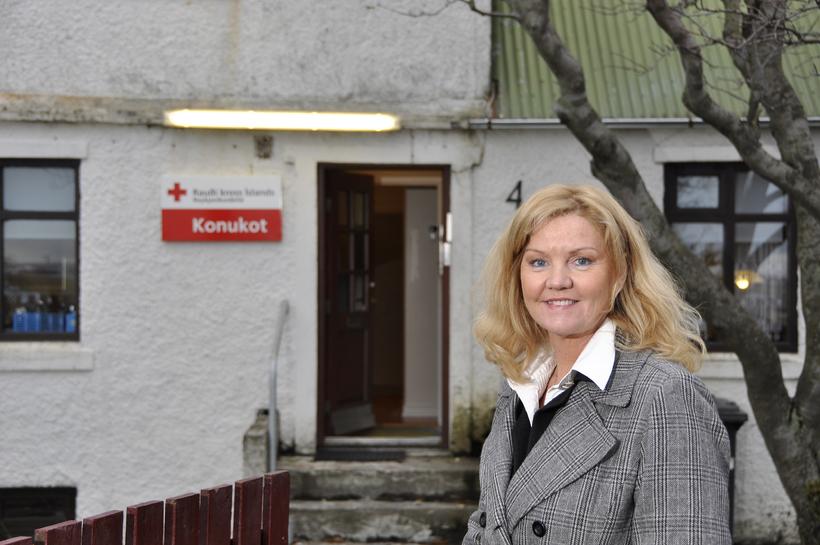Kristín Helga Guðmundsdóttir, verkefnisstjóri Konukots.