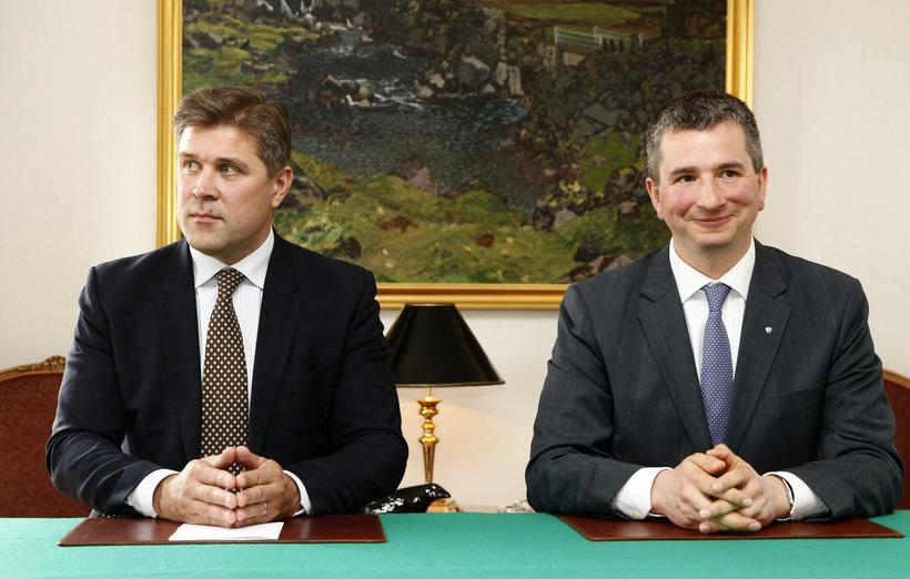 Iceland and Polish Ministers for Finance, Bjarni Bene­dikts­son and Mateusz ...