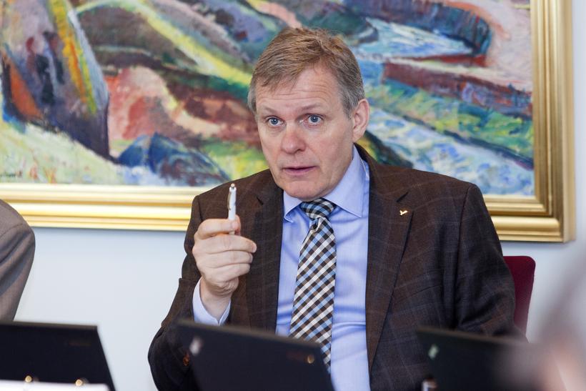 Jón Gunnarsson þingmaður Sjálfstæðisflokksins.