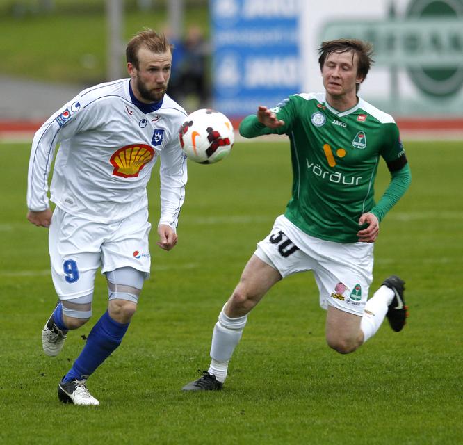 Daníel Laxdal úr Stjörnunni og Andri Rafn Yeoman úr Breiðabliki …