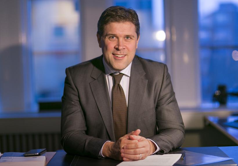 Icelandic Minister for Finance and Economic Affairs, Bjarni Benediktsson.