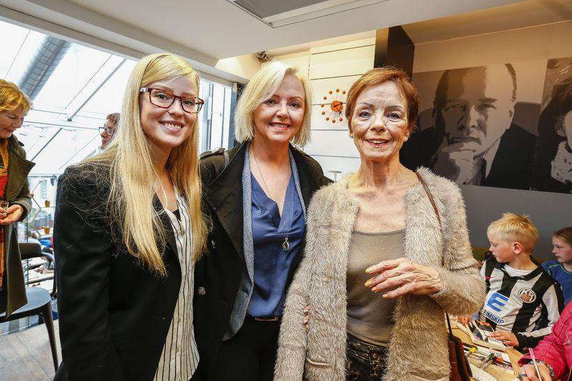 Ástrós Skúladóttir, Stella María Thorarensen og Edda Emilsdóttir.