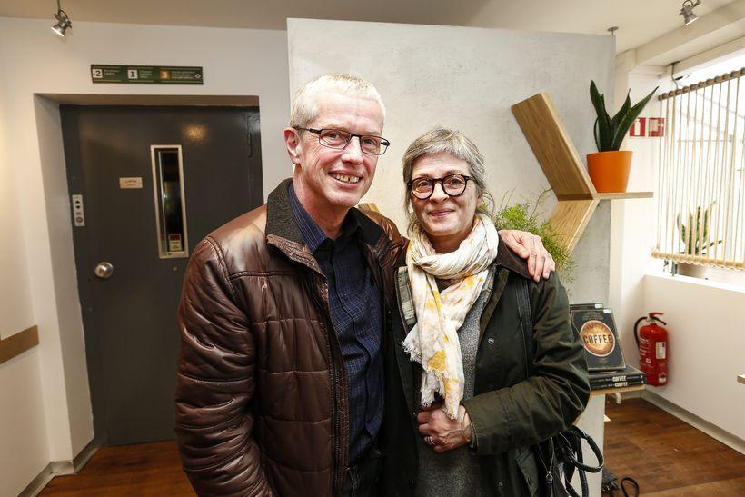 Steinar Jónsson og Annetta Ingimundardóttir.