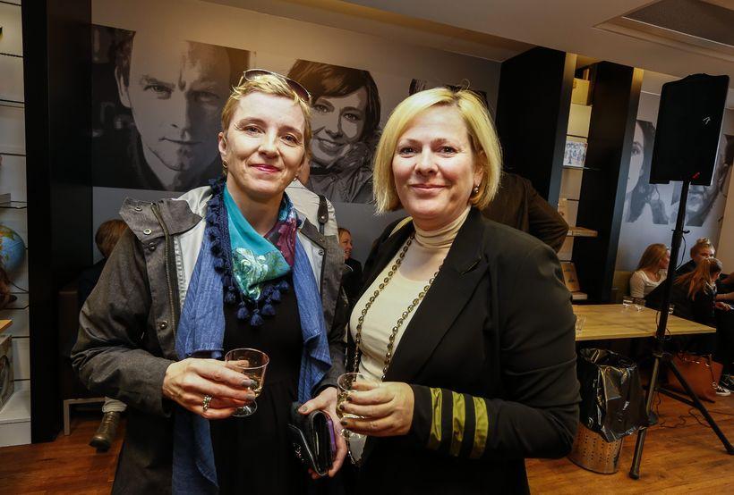 Elín Blöndal og Halla Tómasdóttir.