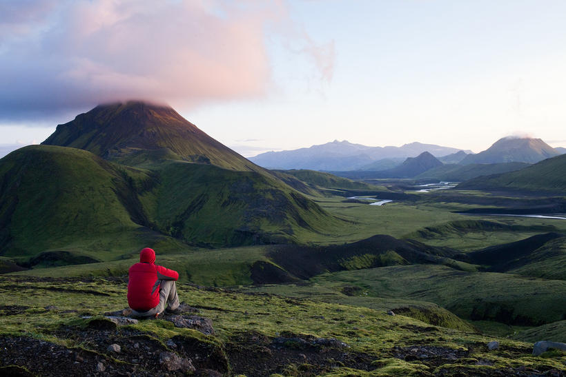 Adventurer Alastair Humphreys has made numerous expeditions in Iceland.