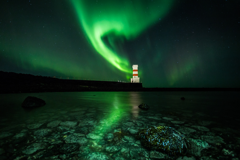 The famous Northern Lights.