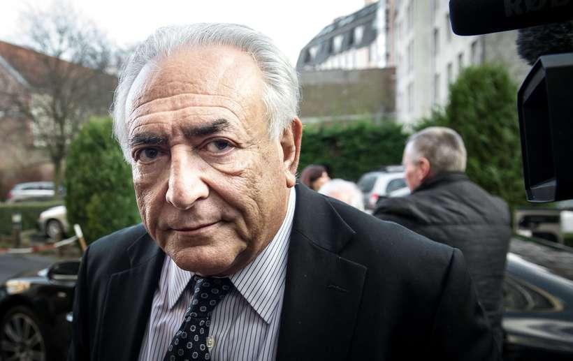 Fáir áttu von á því að Strauss-Kahn, sem eitt sinn ...