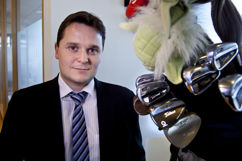 Haukur Örn Birgisson, forseti Golfsambands Íslands.