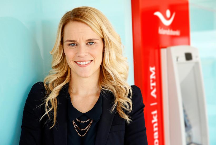 Edda Hermannsdóttir, samskiptastjóri Íslandsbanka.