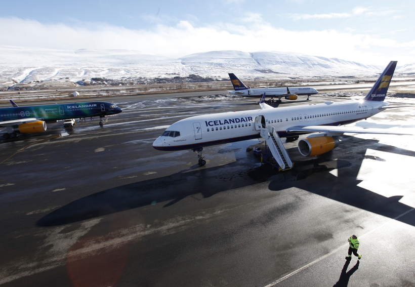 Departures and arrivals for Icelandic airlines have been affected.